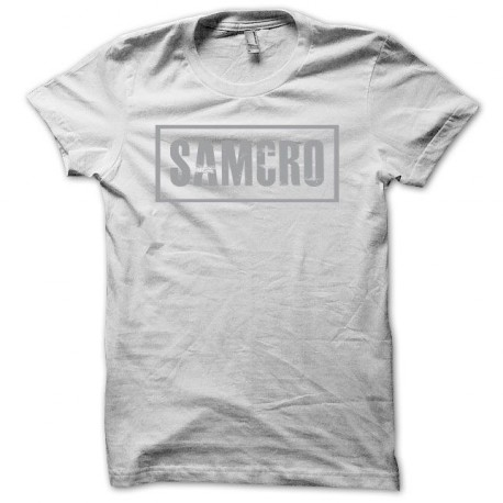 Tee shirt Sons Of Anarchy SAMCRO noir/blanc