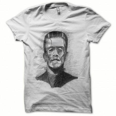 Tee shirt Frankenstein noir/blanc