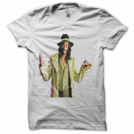 Tee shirt Snoop Dogg blanc