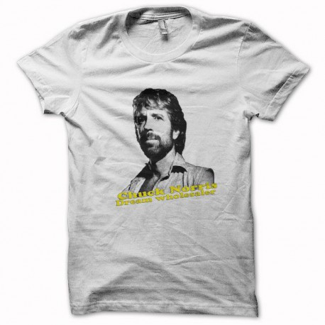 Tee shirt Chuck Norris dream wholesaler noir/blanc