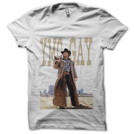 Tee shirt Chuck Norris chuck da fuck noir/blanc