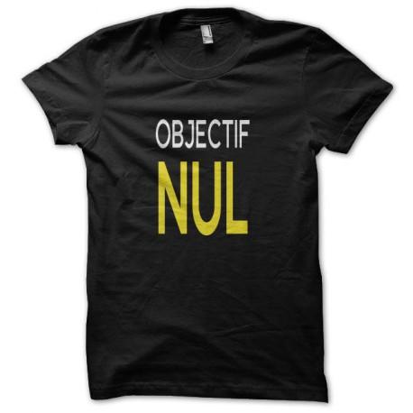 Tee shirt  Les Nuls objectif nul noir
