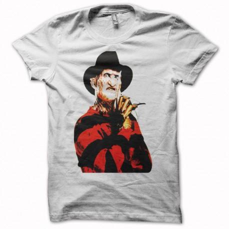 Tee shirt Freddy Krueger blanc