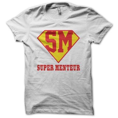 Tee shirt Supergirl blanc