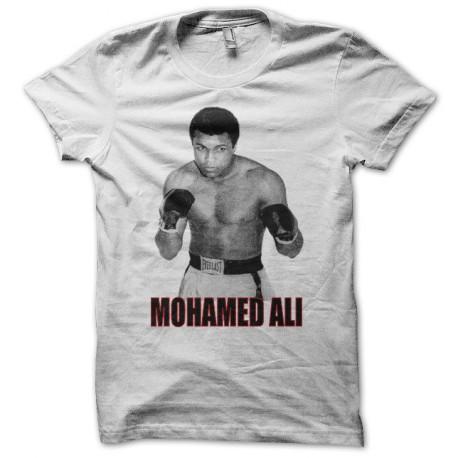 Tee shirt Mohamed Ali blanc