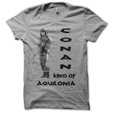 Tee shirt Conan King of Aquilonia gris