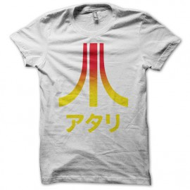 T-shirt Atari Japan degraded white
