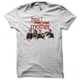 camiseta Cómo conocí a vuestra madre bed blanco