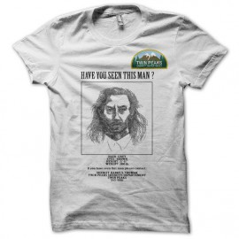 Tee shirt Twin Peaks wanted Bob white