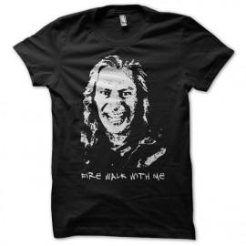 Camiseta Twin Peaks Fire walk with me Bob negro