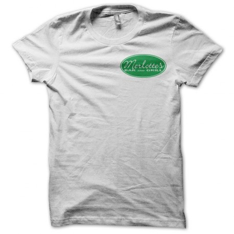 Tee shirt True Blood Merlotte's blanc
