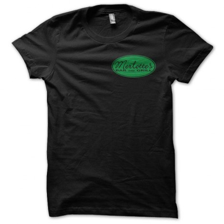 Camiseta True Blood Merlotte's negro
