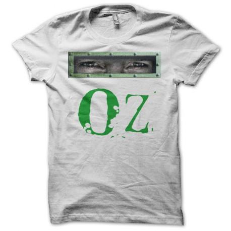 Tee shirt Oz regard porte blanc