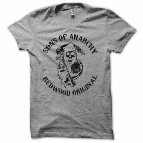 Tee shirt Sons Of Anarchy rare noir/gris