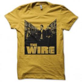 Camiseta The Wire street amarillo