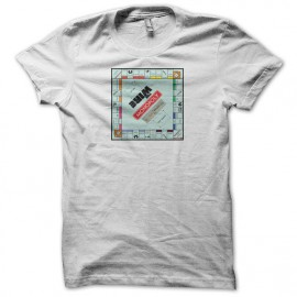 T-shirt The Wire monopoly white