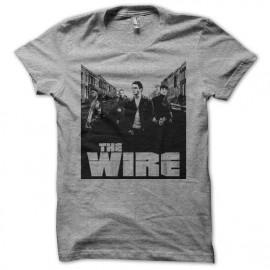 Camiseta The Wire street gris