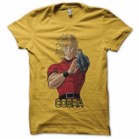 Tee shirt cobra  コブラ  jaune
