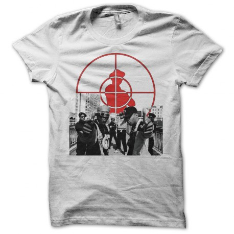 Tee shirt Public Enemy rooftop blanc