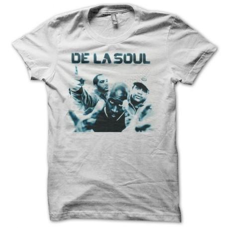 Tee shirt De La Soul blanc