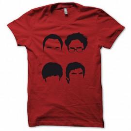 Tee shirt The Big Bang Theory parodie rouge