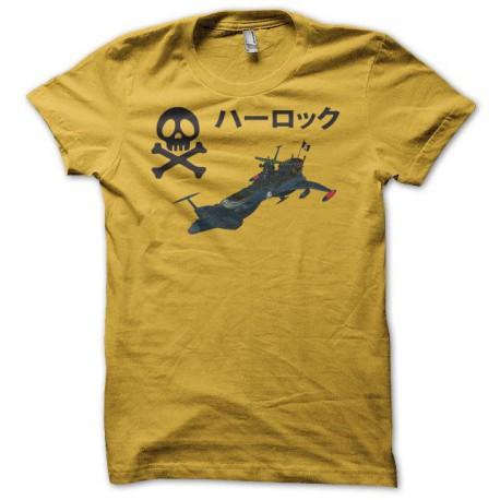 Tee shirt Alabator ハーロック Arcadia jaune