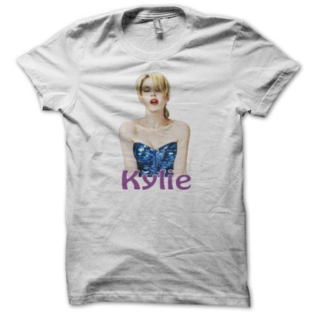 Tee shirt Kylie Minogue blanc