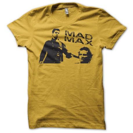 Tee shirt Mad Max gun jaune
