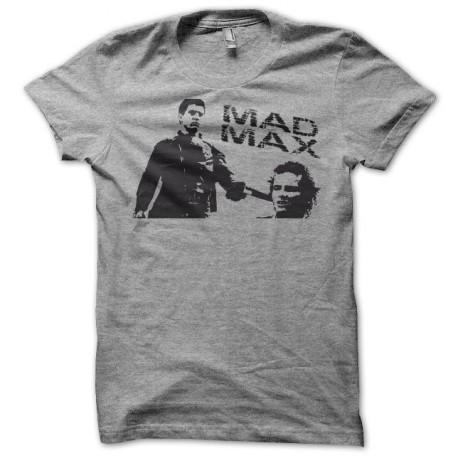 Tee shirt Mad Max gun gris