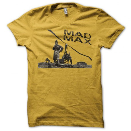 Tee shirt Mad Max copter jaune