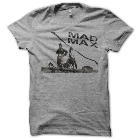 Tee shirt Mad Max copter gris