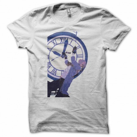 T-shirt back to the future doctor emmett brown white