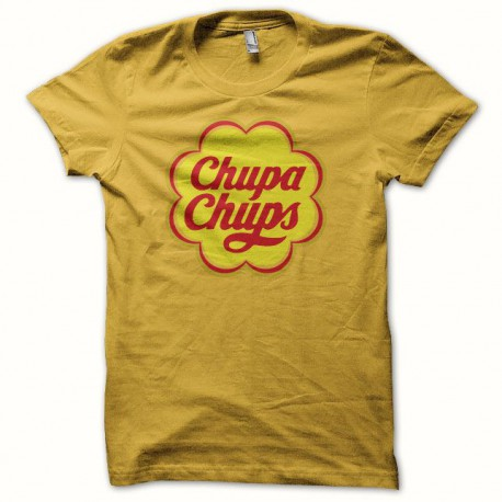 Tee shirt  chupa chups jaune