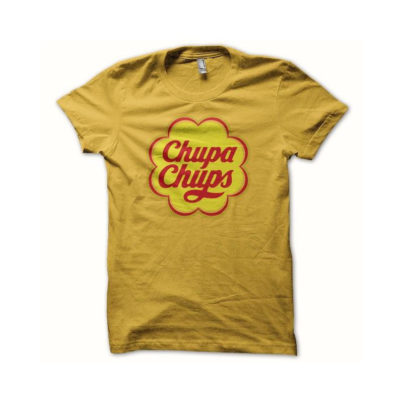 Chupa Tee Jaune Chups Tee Shirt Shirt PWSng
