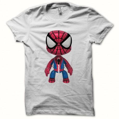 Tee shirt Spiderman 3d blanc