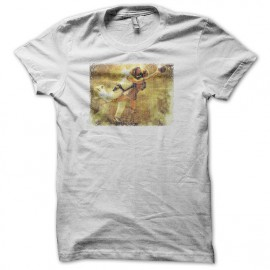 Tee shirt The Big Lebowski Dude dream blanc