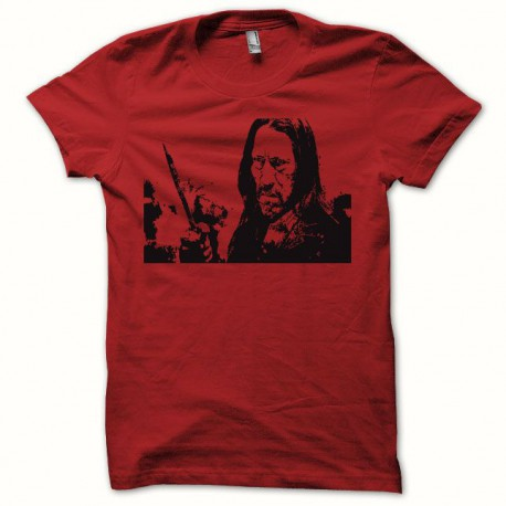 Tee shirt Machete Macheté rouge