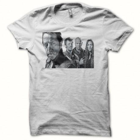 Tee shirt Artwork Braquo blanc