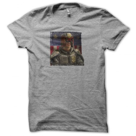 Tee shirt Judge Dredd gris