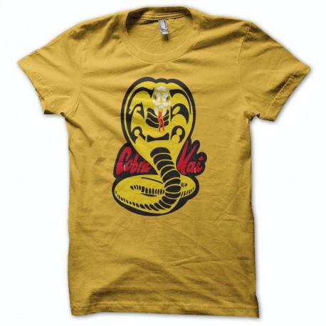 Tee shirt Karaté kid cobra kai jaune