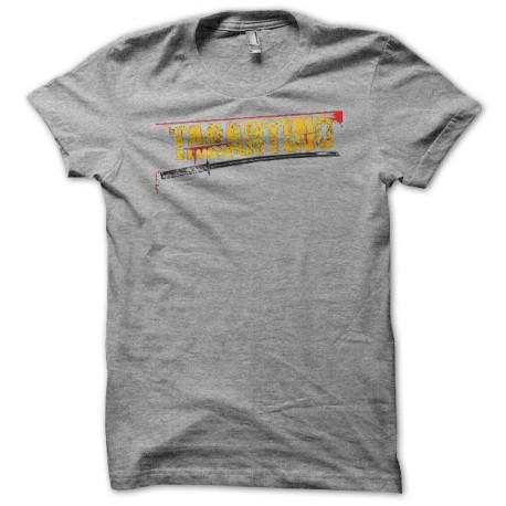 Tee shirt Tarantino katana gris