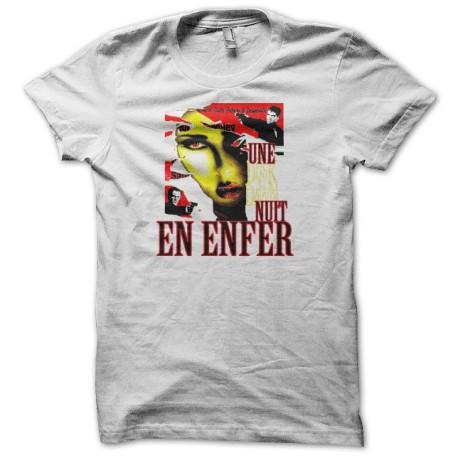 Tee shirt Une Nuit en Enfer blanc