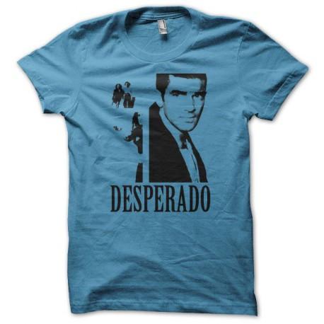 Tee shirt Desperado bleu
