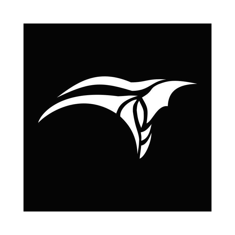T-shirt Stargate Anubis symbol white/black