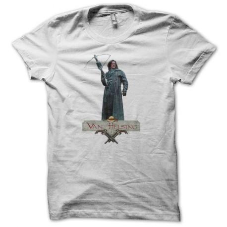 Tee shirt Van Helsing blanc