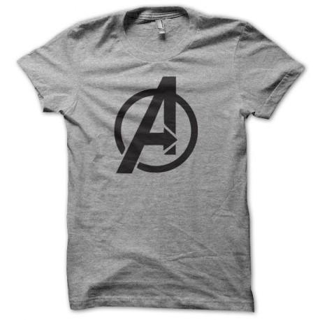 Tee shirt avengers gris