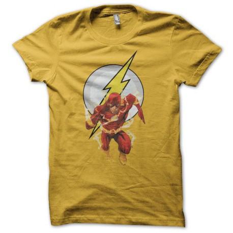 Tee shirt Flash  jaune