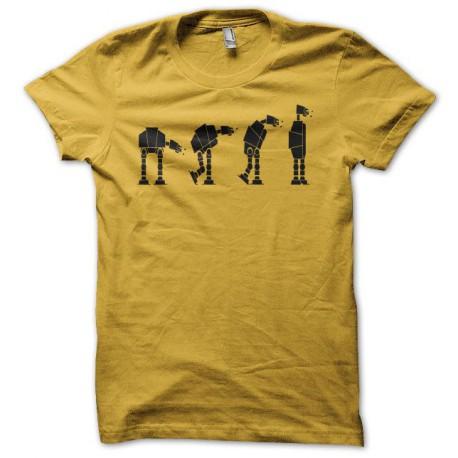 Tee shirt Parodie Star Wars Lego noir/jaune