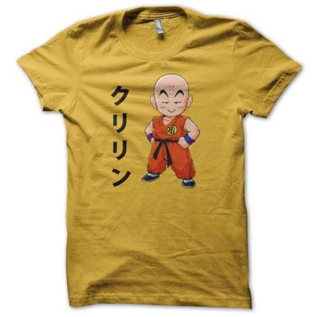 Tee shirt Krilin クリリン dragon ball jaune