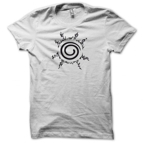 Tee shirt Naruto symbole noir/blanc